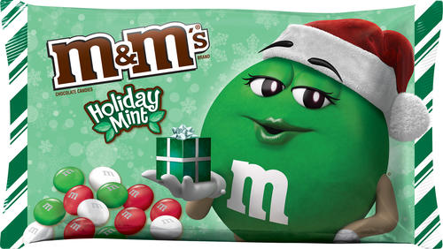 M&M's® Holiday Mint Chocolate Candies - 9.2 oz at Menards®