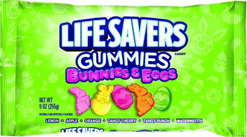 are lifesavers gummies bunnies and eggs gluten free