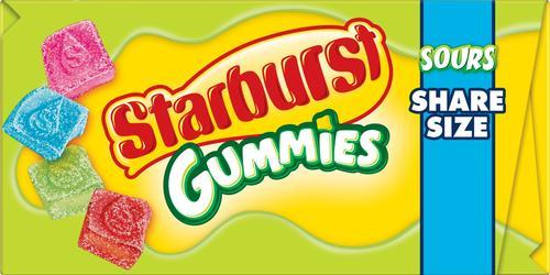 Starburst® Sours Gummies Share Size - 3 5 oz at Menards®