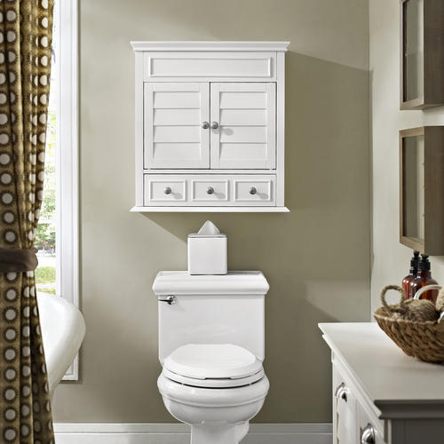 """Jcpenney Furniture Outlet Ohio: Crosley Lydia 24.25""""W X 25.75""""H White Wall Cabinet At Menards®"""