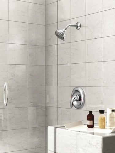 Moen Adler One Handle 4 Spray Shower Faucet In Chrome At Menards