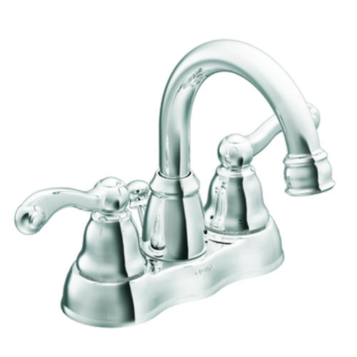 Moen Traditional Two Handle 4 Centerset Bathroom Faucet At