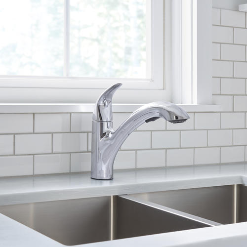 Moen Medina One Handle Pull Out Kitchen Faucet At Menards