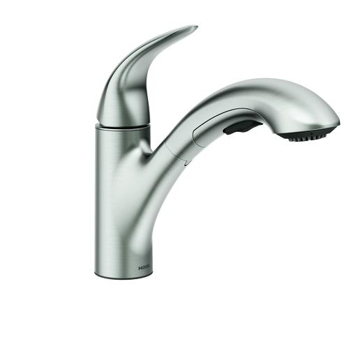 moen medina one handle pull out kitchen faucet at menards rh menards com