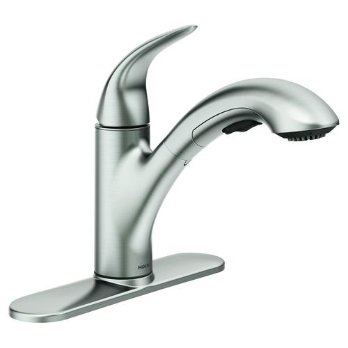 Moen® Medina™ One-Handle Pull-Out Kitchen Faucet at Menards®