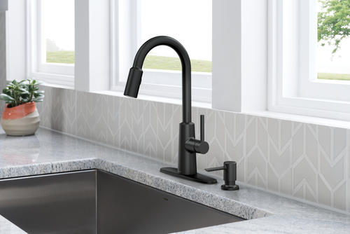 Moen Nori One Handle Pull Down Kitchen Faucet With Reflex At Menards