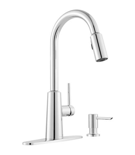 Moen Nori One Handle Pull Down Kitchen Faucet With Reflex