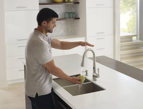 Moen Ridgedale With Motionsense One Handle Pull Down