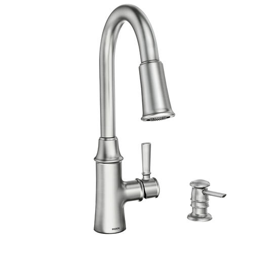 Moen® Caris™ with Reflex® One-Handle Pull-Down Spot Resist ...