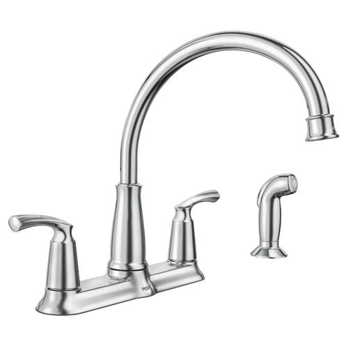 moen bexley two handle kitchen faucet at menards rh menards com