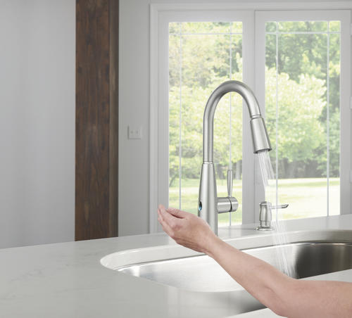 Moen® Sperry™ With MotionSense™ Wave One Handle Pull Down ...