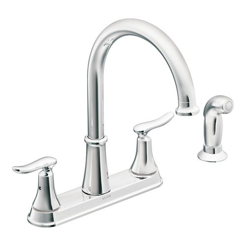 moen solidad two handle kitchen faucet at menards rh menards com