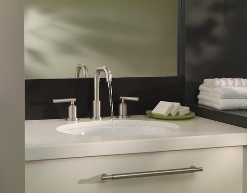 Moen 174 Gibson Two Handle 8 Quot Widespread Bathroom Faucet At Menards 174