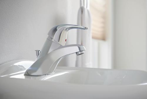 Moen 174 Adler One Handle 4 Quot Centerset Bathroom Faucet At