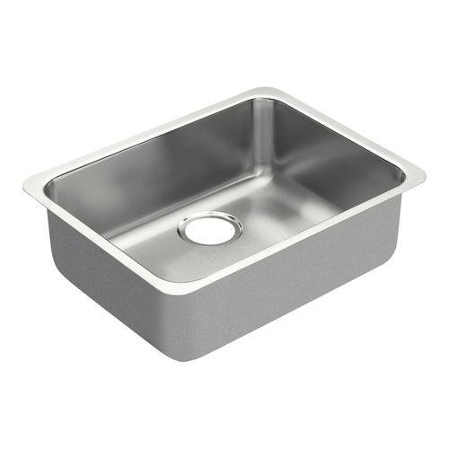 Moen 1800 Series Undermount 23 Stainless Steel Single Bowl Sink