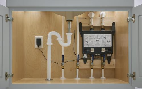 U By Moen 2 Outlet Thermostatic Digital Shower Valve At Menards
