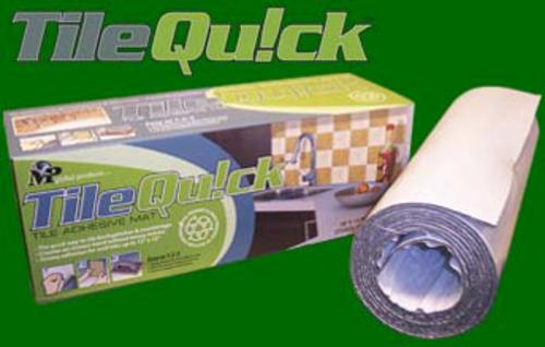 Mp Global Products Tilequick 1 8 Thick Wall Tile Adhesive Mat At Menards