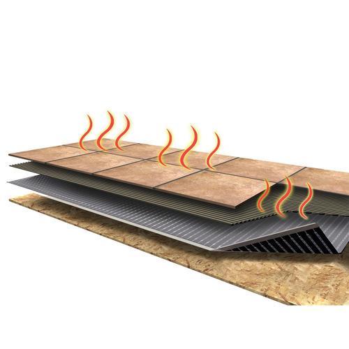 Floor Heat Tile Mat Kit At Menards