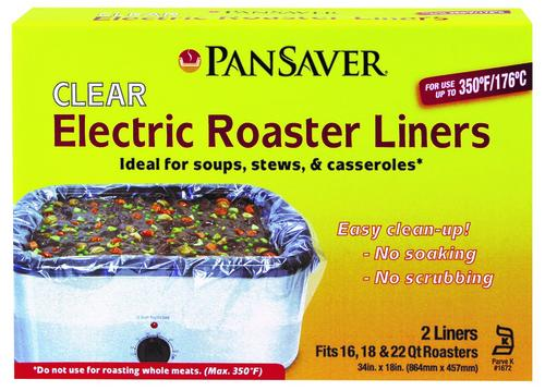 pansaver 350 f ovenable electric roaster liner at menards rh menards com