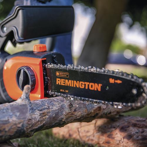 Remington Ranger 10 in 8 Amp Electric Telescoping 2-in-1 Pole Saw//Chainsaw
