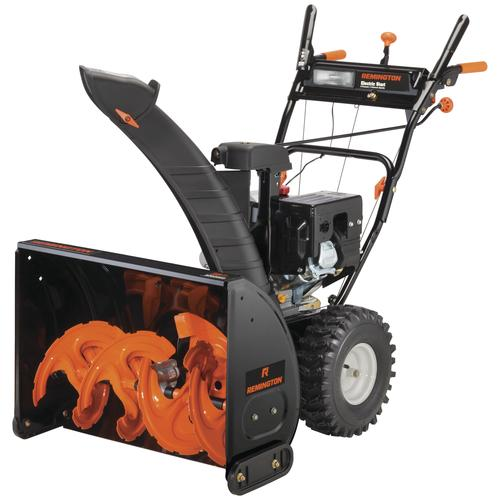 "Menards Snow Blowers >> Remington® 28"" 243cc Two Stage Electric Start Gas Snow Blower at Menards®"