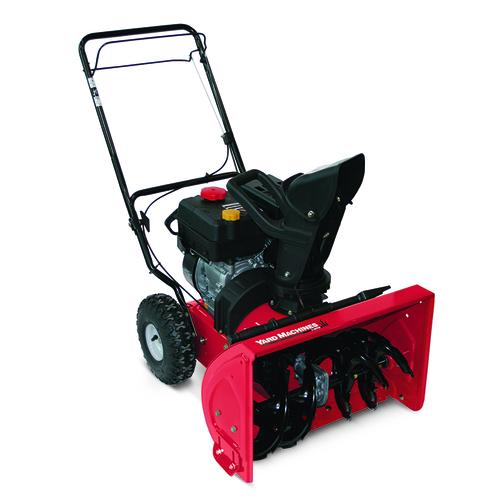 Menards Snow Blowers >> Yard Machines 22 179cc Two Stage Electric Start Gas Snow Blower At