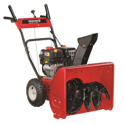 """Yard Machines® 24"""" 208cc Two-Stage Electric Start Gas Snow ..."""