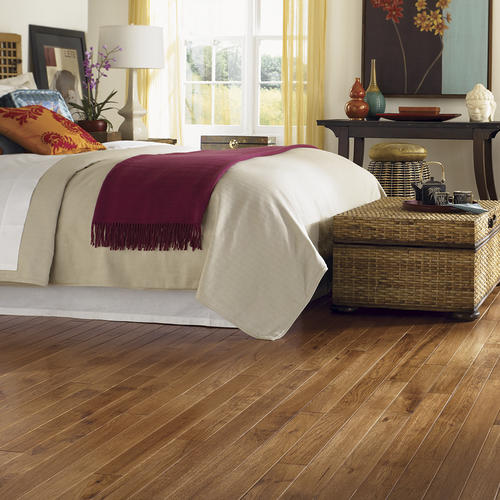 Great Lakes Wood Floors 34 X 4 Hand Sculpted Hickory Solid Hardwood