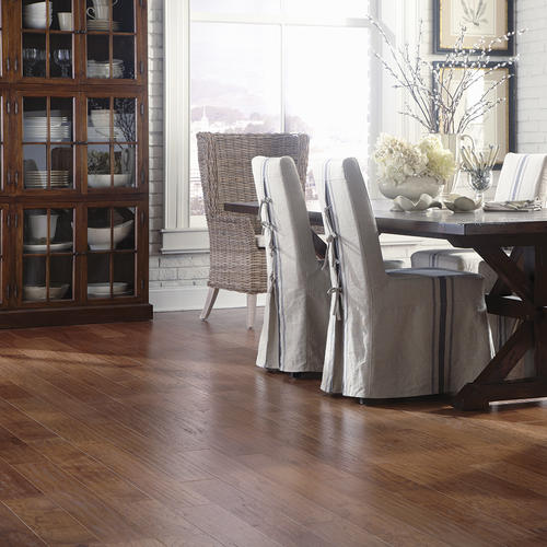 Great Lakes Wood Floors 38 X 5 Hand Sculpted Hickory Engineered