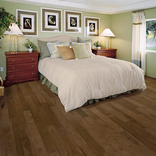 Great Lakes Wood Floors 34 X 3 Ginger Spice Hickory Solid Hardwood