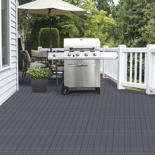 Charmant Multy Home 12x12 Deck Tile   6 Pack At Menards®