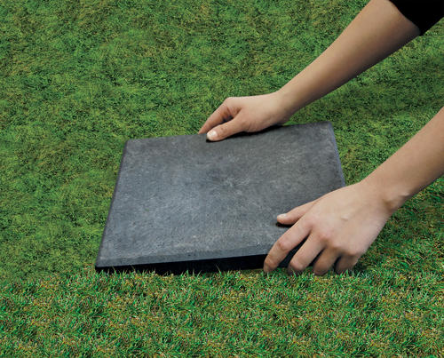 Stomp Stone 12 X 12 Rubber Patio Block At Menards®