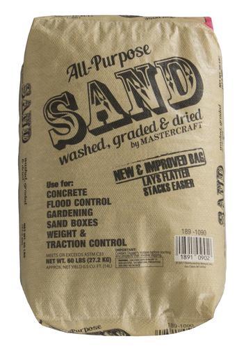 All Purpose Dried Sand - 60 lb at Menards®