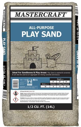Play Sand 1 2 Cu Ft At Menards 174