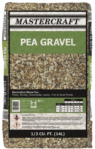 How Much Does A Yard Of Gravel Weigh >> Pea Gravel 1 2 Cu Ft At Menards