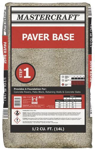 Paver Base Step 1/2 cu ft at Menards®