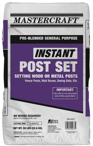 Instant Post Cement - 50 lb at Menards®