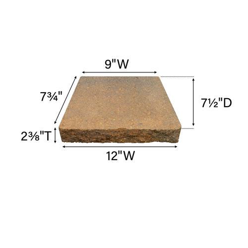 2-3/8 x 12 Retaining Wall Cap at Menards®