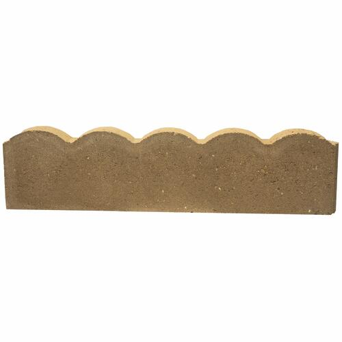 2 X 6 X 24 Straight Scalloped Edger Block At Menards
