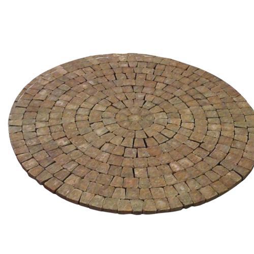 - 9-1/2' Tumbled Circle Paver Kit At Menards®