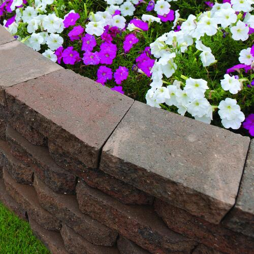 2 3 8 X 12 Retaining Wall Cap At Menards