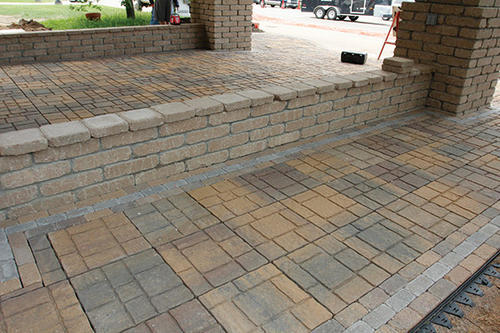 16 X Ez Slate Patio Block