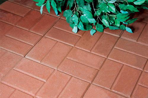 12 Quot X 12 Quot Brickface Patio Block At Menards 174