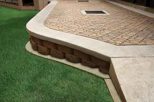 flagstone 14 x 11 paver at menards® - Menards Patio Design