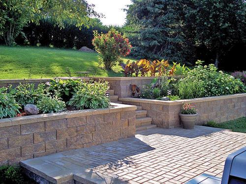 Brickface 16 X 16 (L) Patio Block At Menards®