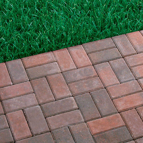 "Landscape Patio Menards Patio Blocks For Cozy Your: 4"" X 8"" Patio Paver At Menards®"