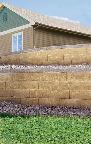 6 X 18 Denver Straight Retaining Wall Block At Menards 174
