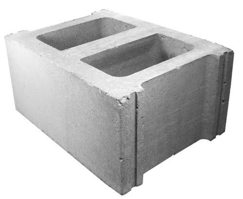 12 X 8 X 16 Standard Concrete Block At Menards