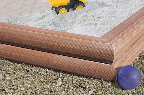 - 12' UltraTimber Composite Landscape Timber At Menards®