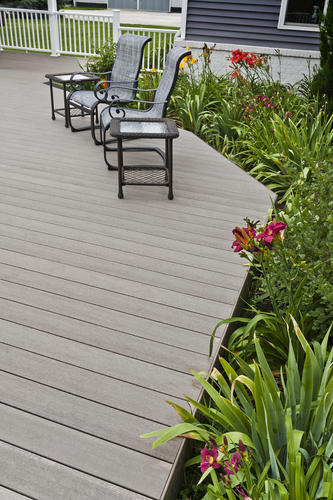 14' UltraDeck® Rustic™ Composite Decking at Menards®